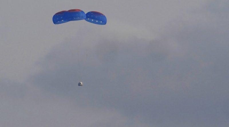 Γύρισε από το διάστημα ο Μπέζος: 11 λεπτά η πτήση - Πόσο έμειναν σε μηδενική βαρύτητα