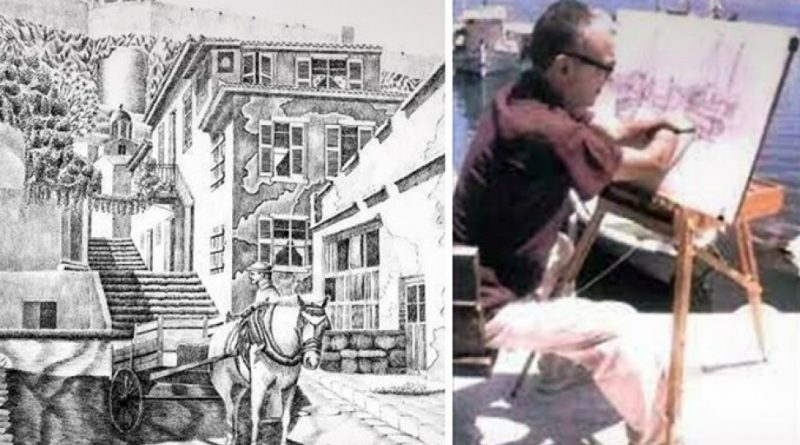 Απεβίωσε ο διεθνούς εμβέλειας ζωγράφος Σοφοκλής Χρήστου